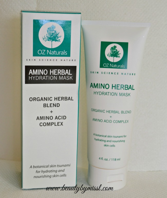 Amino Herbal Hydration Mask