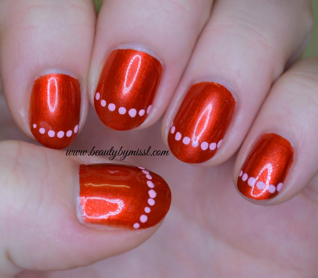 RedCoatTuesday nail art