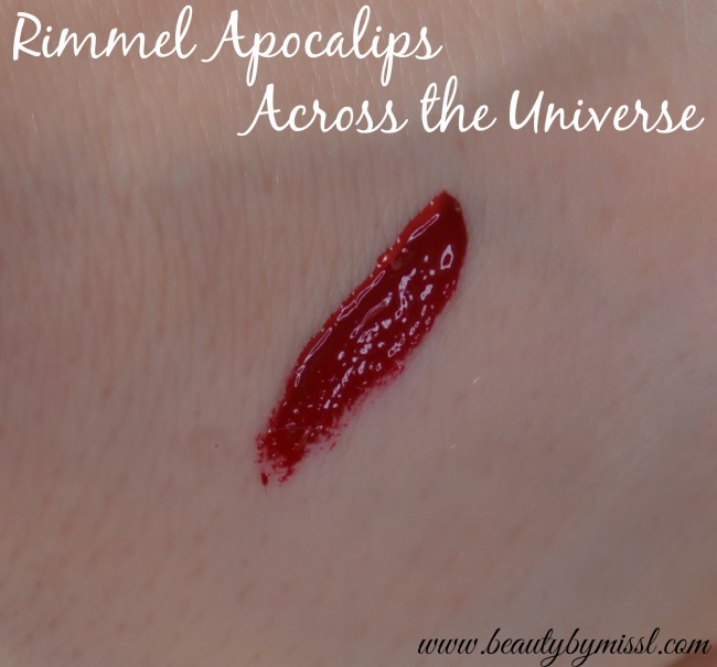 Rimmel Apocalips Across the Universe