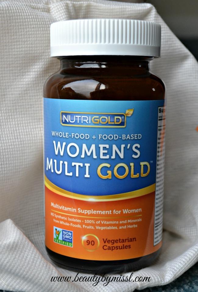 NutriGold Whole-Food Women's Multi Gold Multivitamin