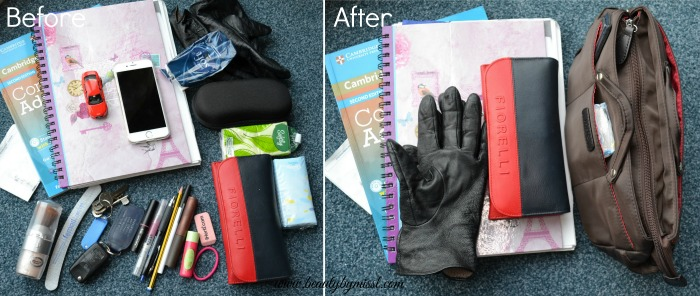 tame the mess in your handbag