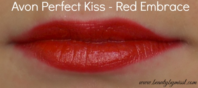 Avon Perfect Kiss Red Embrace