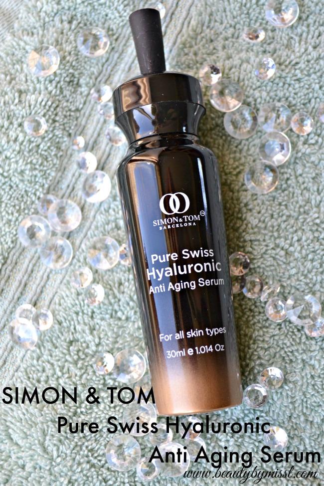 SIMON & TOM Pure Swiss Hyaluronic Anti Aging Serum