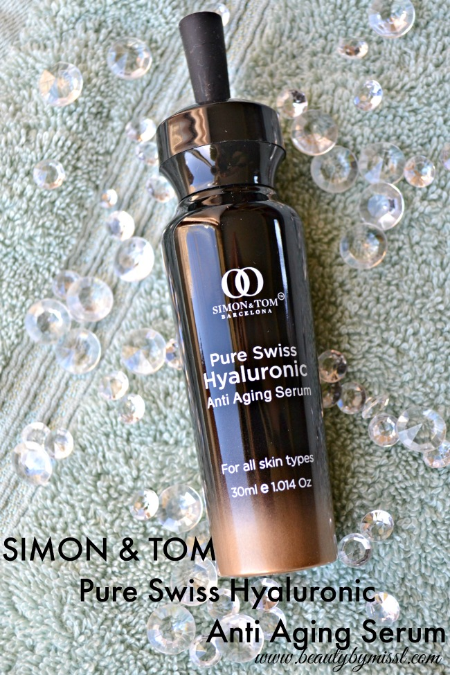 SIMON & TOM Pure Swiss Hyaluronic Anti Aging Serum