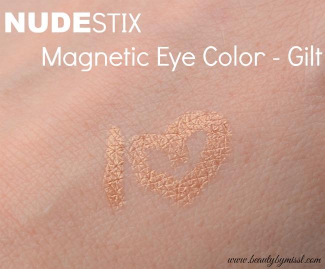 NUDESTIX Magentic Eye Color Gilt swatch