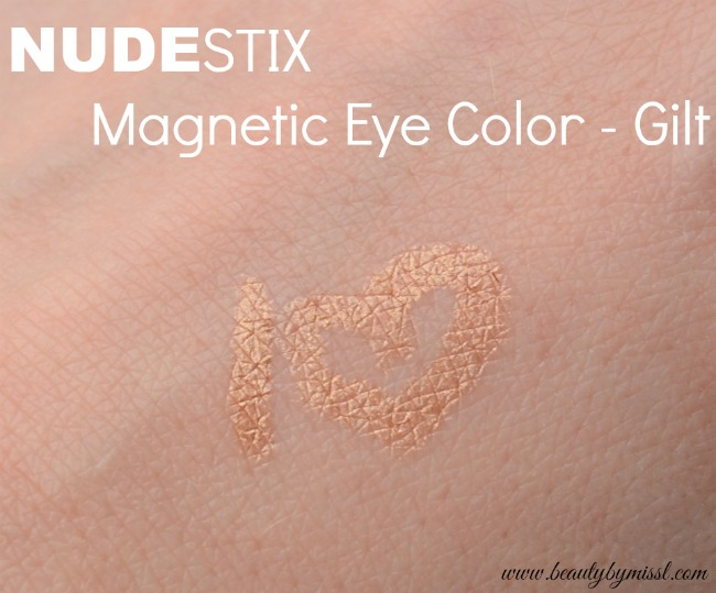 NUDESTIX Magentic Eye Color Gilt swatch