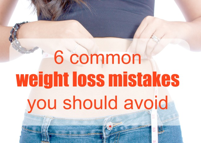 6 common weight loss mistakes you should avoid