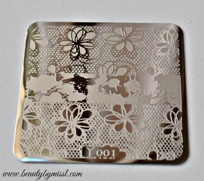 stamping plate 001 Born Pretty Store
