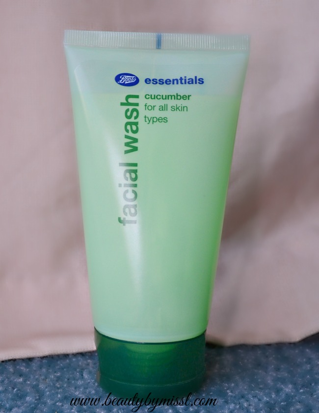 Boots Essentials Cucumber Facial Wash