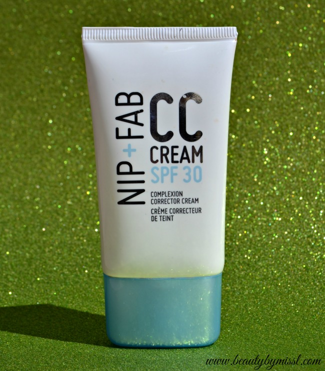Nip+Fab CC cream Light SPF 30 review