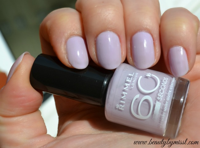 Rimmel 60 Seconds nail polish 621 Mary Mary Quite Contrary