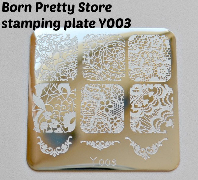 Y003 stamping plate