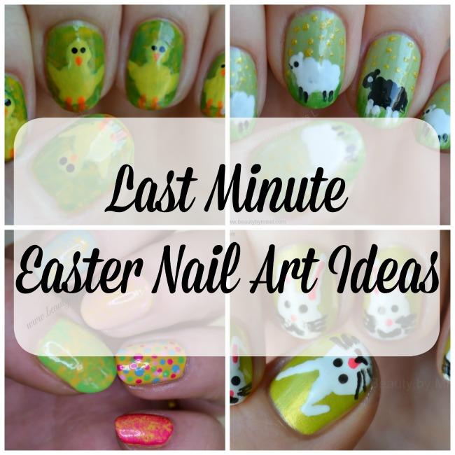 Last Minute Easter Nail Art ideas