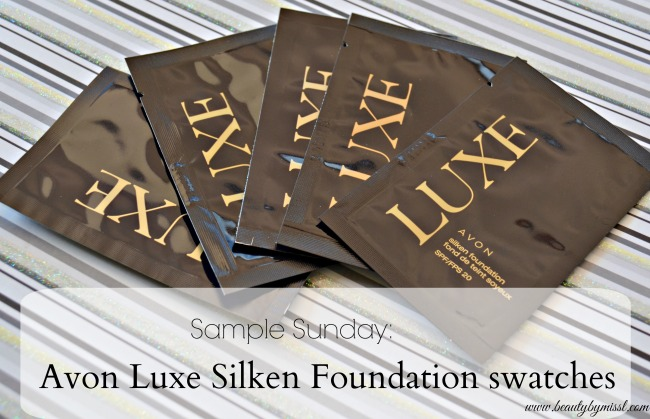 Avon Luxe Silken Foundation