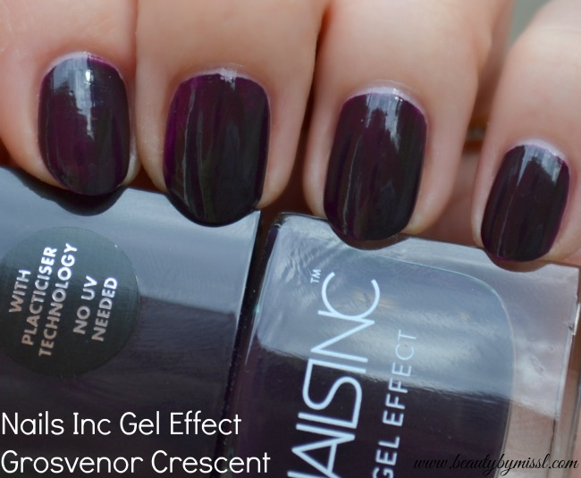Nails Inc Gel Effect nail polish Grosvenor Crescent