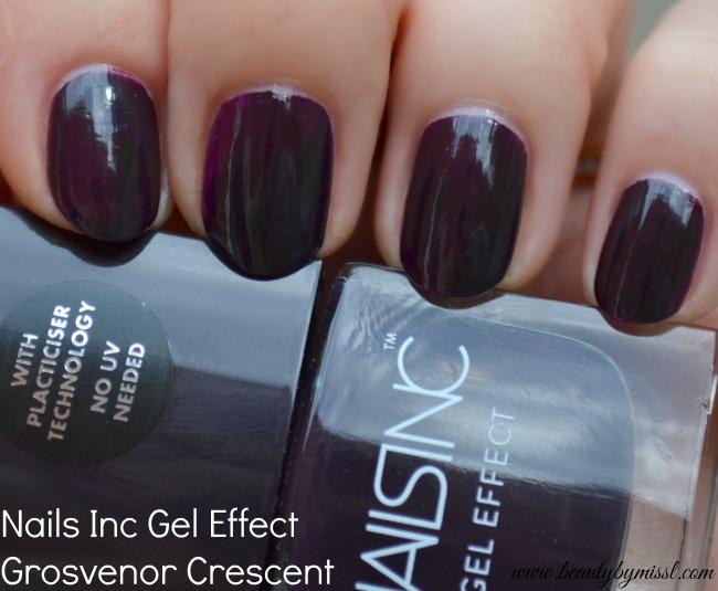 Nails Inc Gel Effect nail polish Grosvenor Crescent