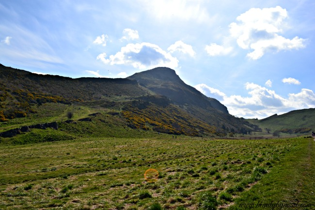 Edinburgh Holyrood Park and Arthur's Seat