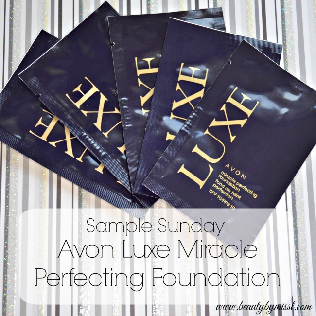 Avon Luxe Miracle Perfecting Foundation