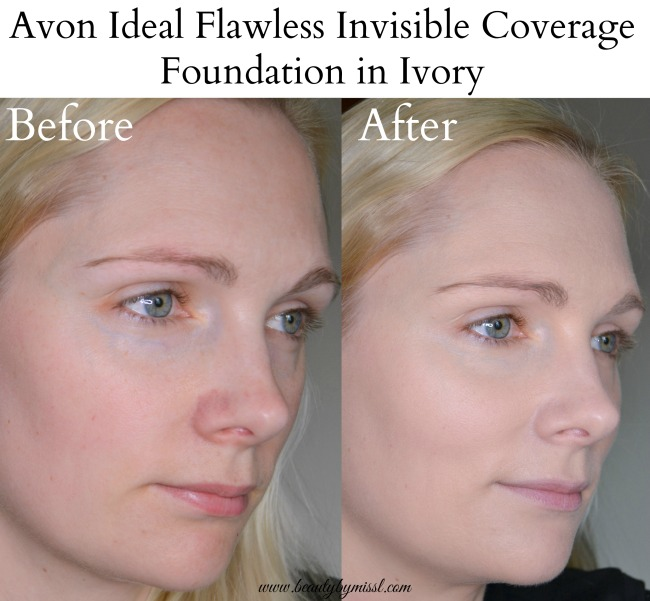 Avon Ideal Flawless Invisible Coverage Foundation Ivory