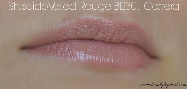 Shiseido Veiled Rouge BE301 Carrera