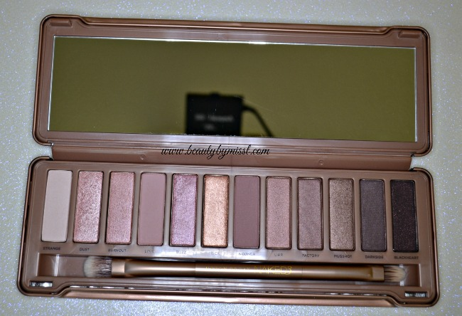Urban Decay Naked 3 swatches review