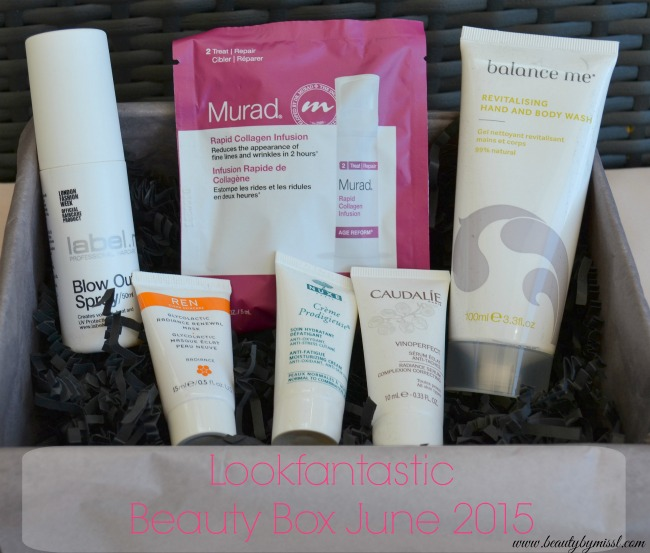 Lookfantastic Beauty Box June 2015