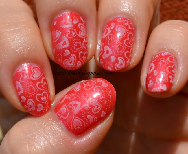 stamping goes with lava flow