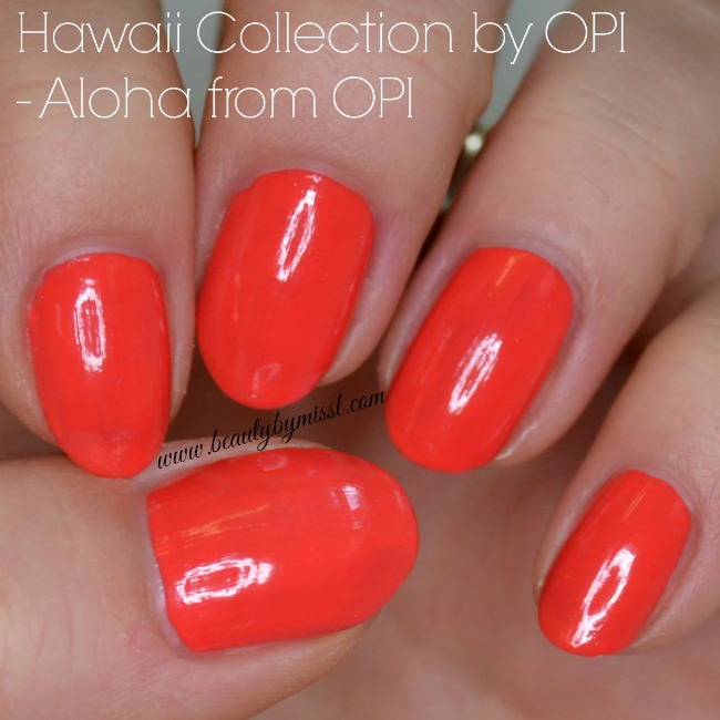 Opi Nail Envy Just My Look: Hawaii Collection By OPI
