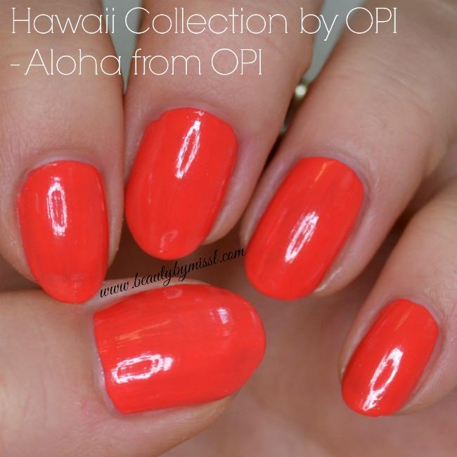 OPI Aloha from OPI