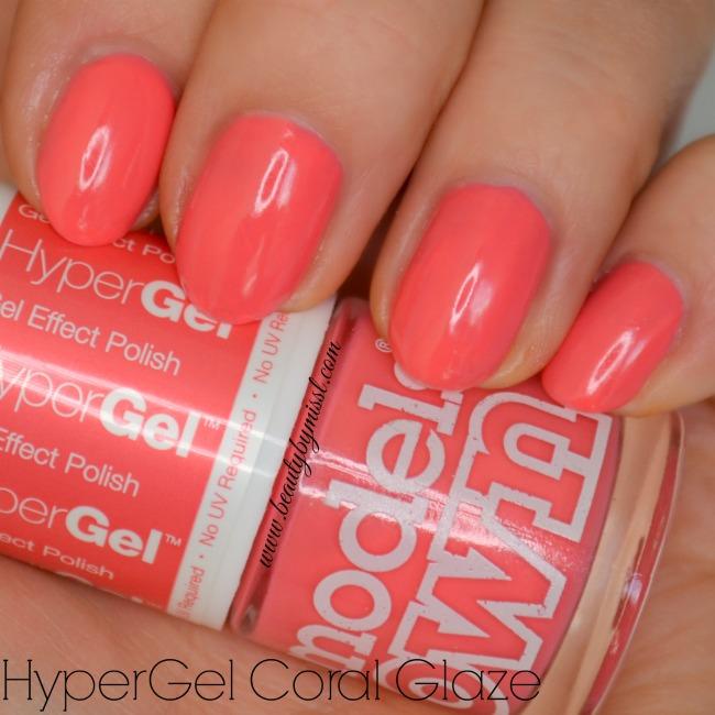 Models Own HyperGel Coral Glaze