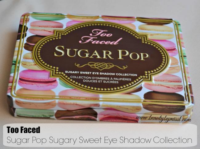 Too Faced Sugar Pop eyeshadow palette
