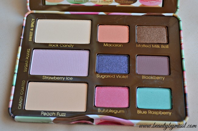 Too Faced Sugar Pop eyeshadow palette