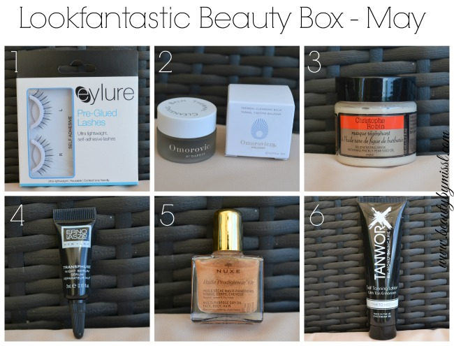 Lookfantastic Beauty Box May 2015