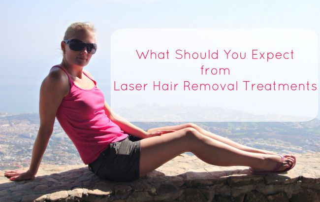 What Should You Expect from Laser Hair Removal Treatments