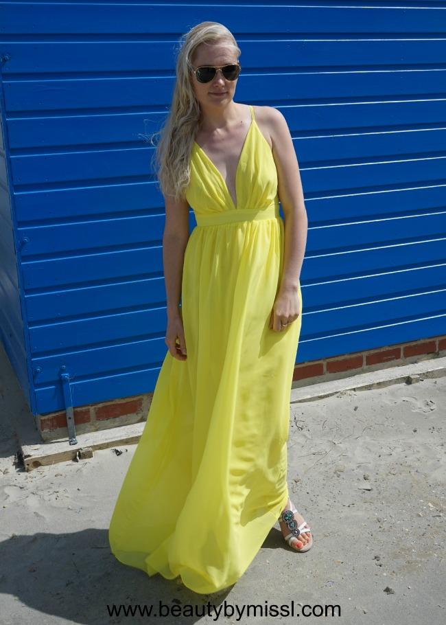 SheIn maxi dress