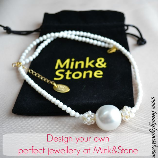 Design your own perfect jewellery at Mink&Stone
