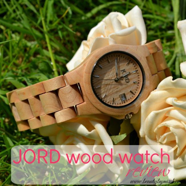 JORD Wood Watch Ely Series Maple
