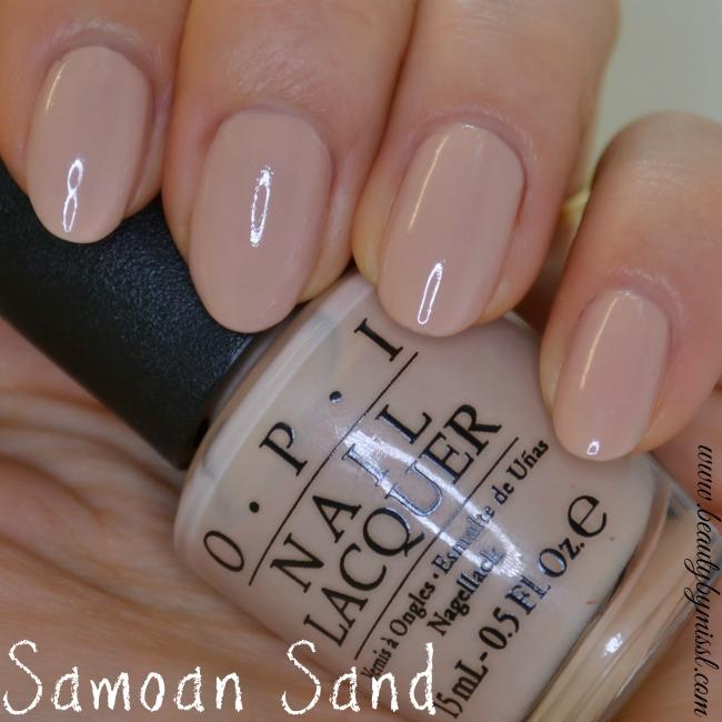 OPI Samoan Sand - Beauty by Miss L