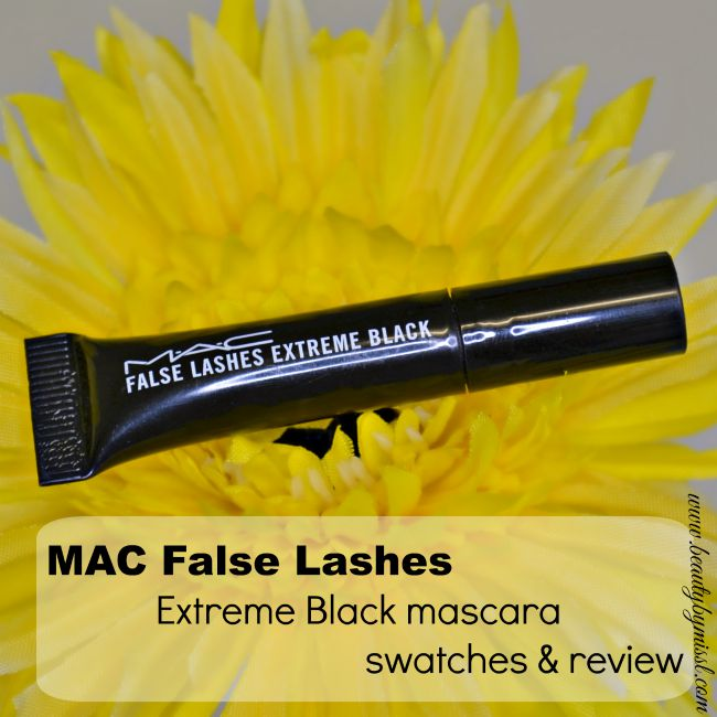 MAC False Lashes Extreme Black Mascara review