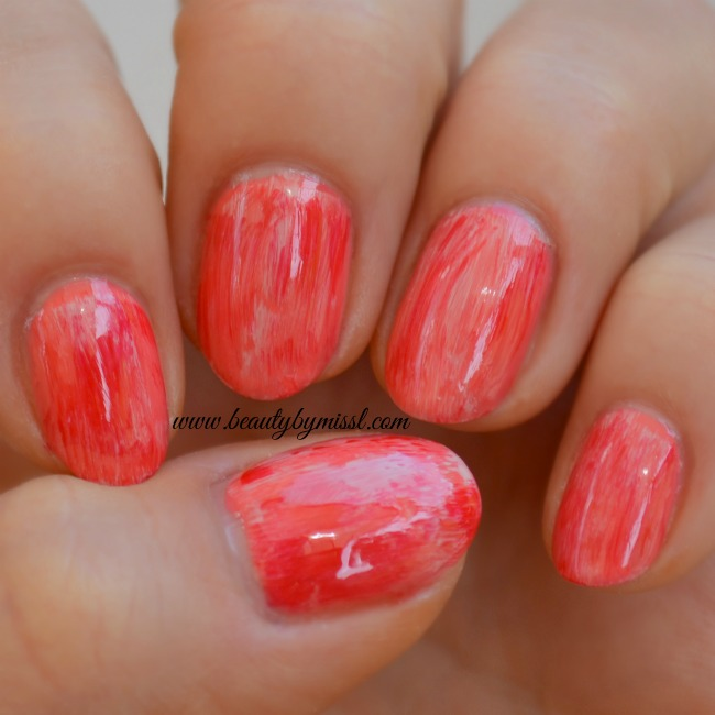 Dry Brush Nail Art with Models Own HyperGel polishes