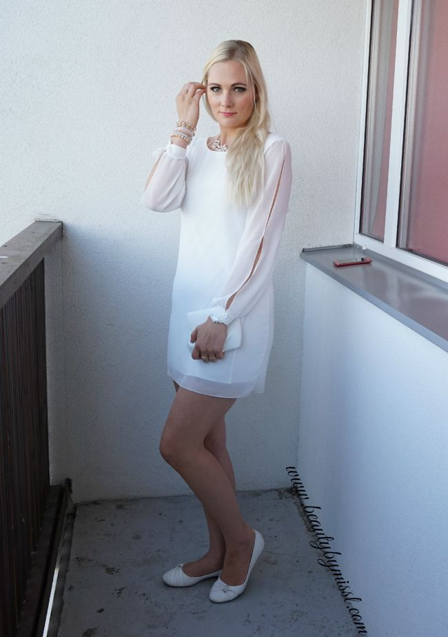 outfit post featuring SheIn mini dress, Michael Kors watch, Dorothy Perkins accessories | www.beautybymissl.com