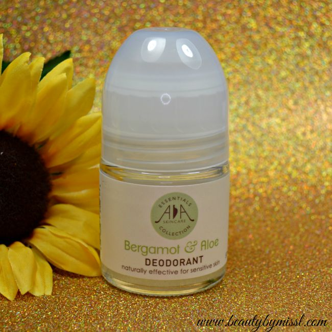 AA Skincare Bergamot & Aloe Deodorant