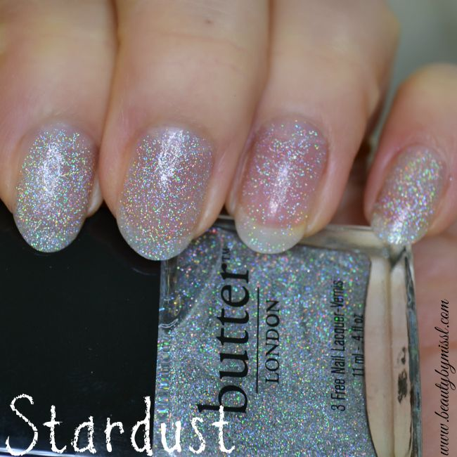 Butter London Stardust swatches
