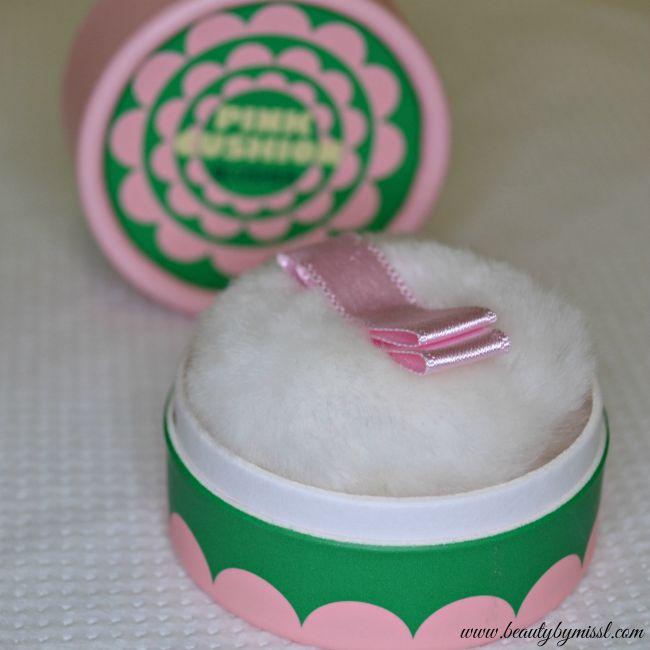 The Face Shop Lovely Mix Pastel Cushion Blusher Pink Cushion