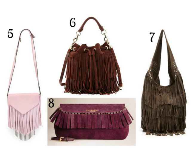 Must have bags for fall 2015 - fringe bags | www.beautybymissl.com