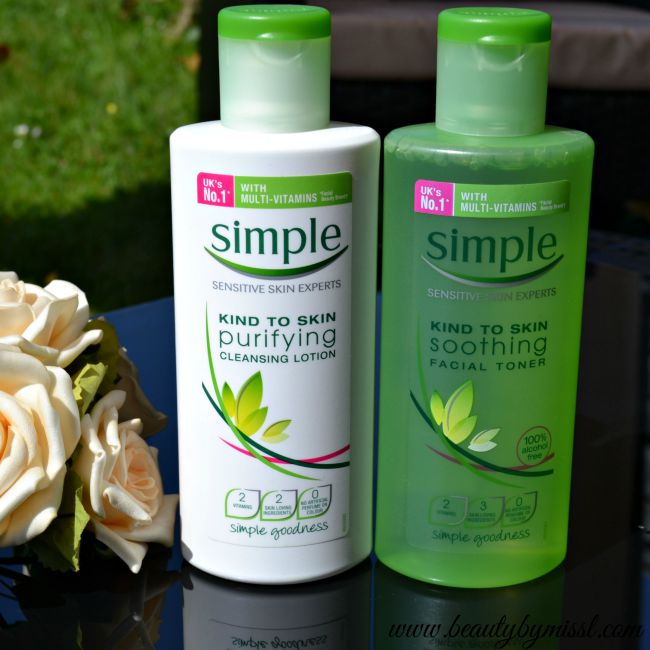 Simple Cleansing Lotion and Facial Toner | www.beautybymissl.com