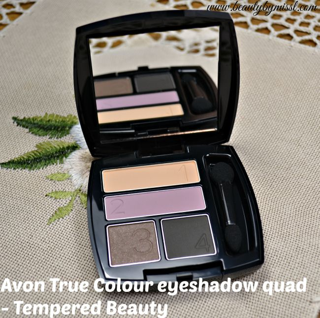 Avon True Colour Eyeshadow Quad - Tempered Beauty
