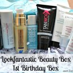 LookFantastic Beauty Box 1st Birthday Box aka September 2015 box