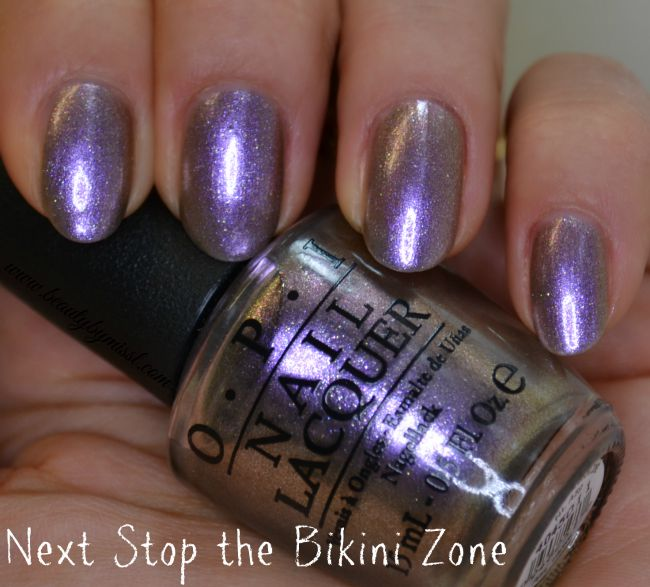 opi next stop the bikini zone