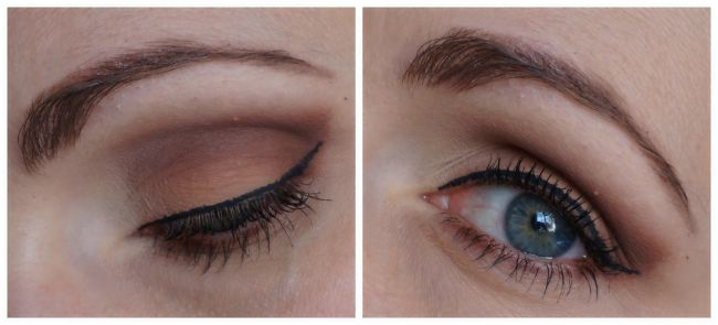 Too Faced Natural Matte eye look tutorial